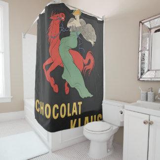 chocolat 1 shower curtain