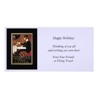 Chocolat Amatller Marc Luna Customized Photo Card