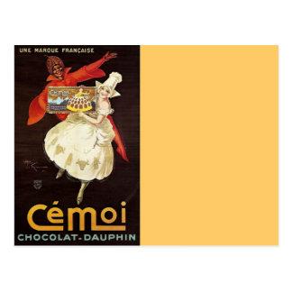 Chocolat Dauphin French Girls1924 Postcard