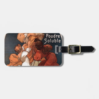 Chocolat Ideal by Alphonse Mucha Bag Tag