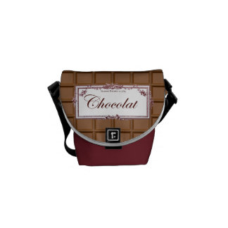 Chocolat Messenger Bags