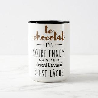 CHOCOLAT Two-Tone COFFEE MUG