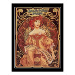 Chocolate Amatller Vintage Poster alphons mucha Poster