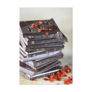Chocolate and Chili Canvas Print