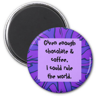 chocolate and coffee magnet