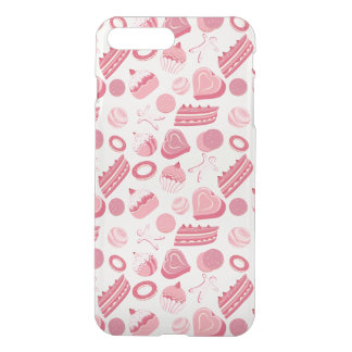 Chocolate and pastries pattern 2 iPhone 7 plus case