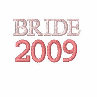 Chocolate and pink bride hoodie