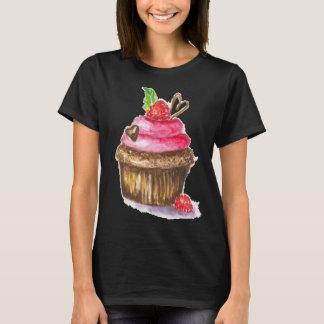 Chocolate and Raspberry woman's T shirt