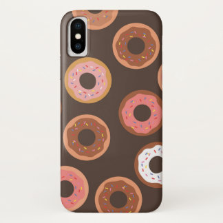 Chocolate and Strawberry Frosted Donuts Phone Case