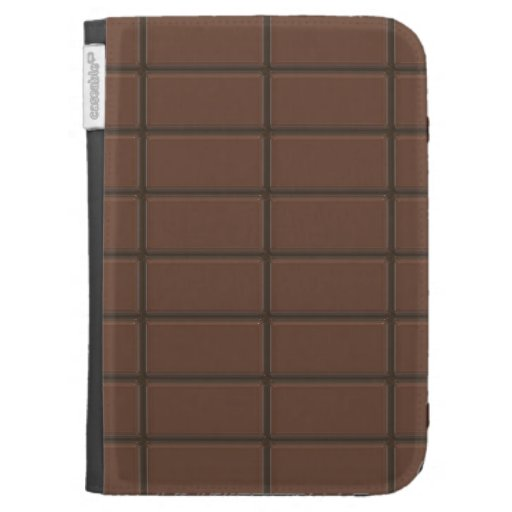 Chocolate Bar Pieces Kindle Case