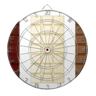 Chocolate bars dartboard