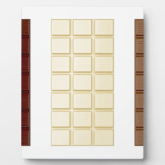 Chocolate bars plaques