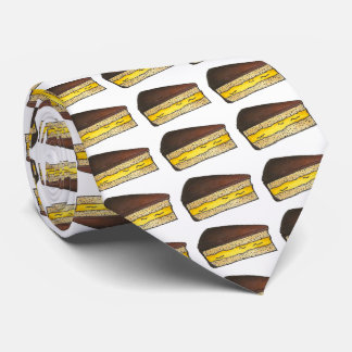 Chocolate Boston Cream Pie Slice Foodie Tie