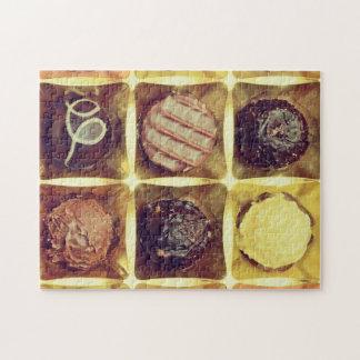 Chocolate box photo puzzle