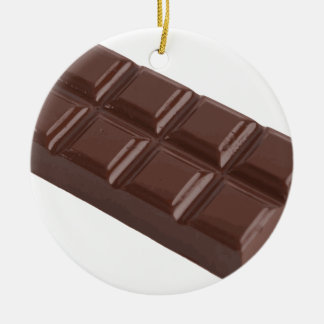 chocolate brick.png ceramic ornament