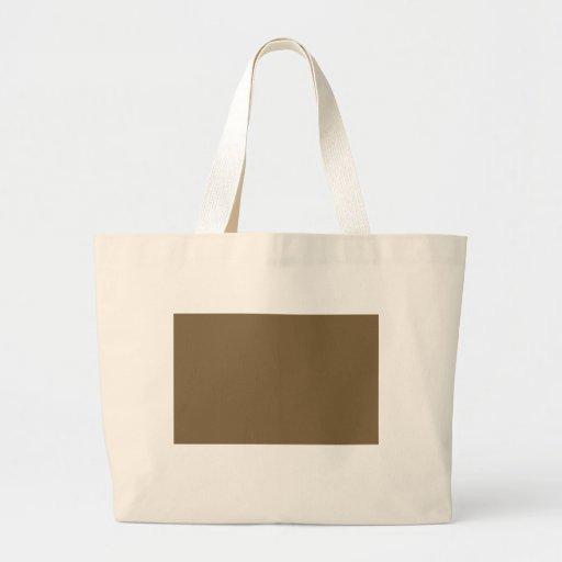 Chocolate brown bag