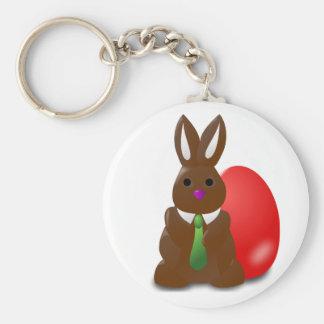 Chocolate Bunny Keychain