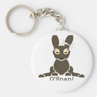 Chocolate bunny keychains