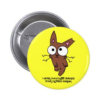 Chocolate Bunny Shrink Pin