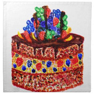 Chocolate Cake 2 Napkin