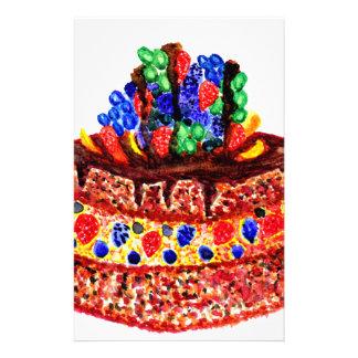 Chocolate Cake 2 Stationery