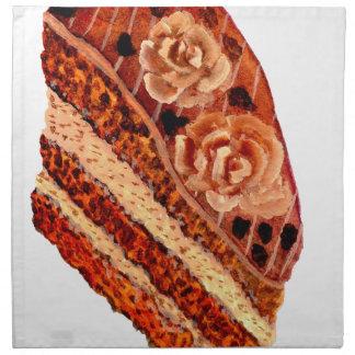 Chocolate Cake 4 Napkin