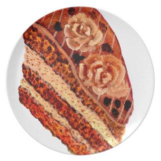 Chocolate Cake 4 Plate