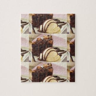 'chocolate cake and ice cream' puzzle