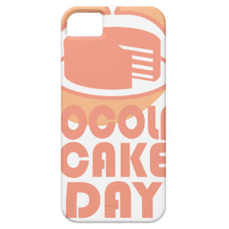 Chocolate Cake Day - Appreciation Day iPhone 5 Cases