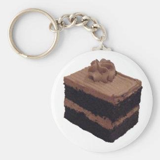 Chocolate Cake Key Ring