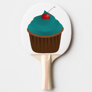 chocolate cake ping pong paddle