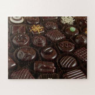 Chocolate Candies Photo Puzzle
