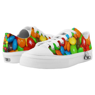Chocolate_Candy_Unisex_Canvas_Zipz_Sneakers Printed Shoes