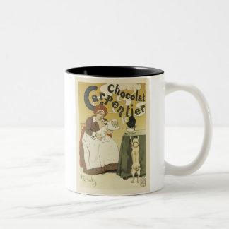 Chocolate Carpentier Two-Tone Coffee Mug