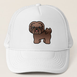 Chocolate Cartoon Havanese Trucker Hat