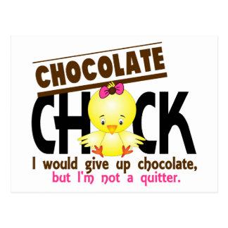 Chocolate Chick 1 Postcard