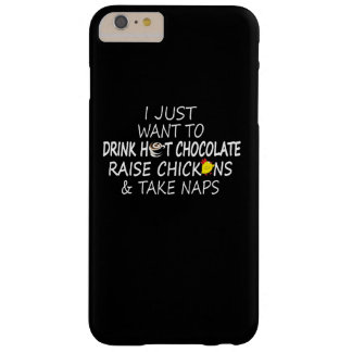 Chocolate, Chickens And Naps Barely There iPhone 6 Plus Case