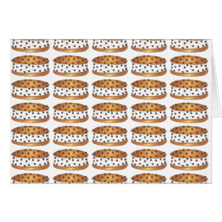 Chocolate Chip Chipwich Ice Cream Sandwich Cards