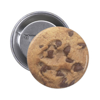 Chocolate Chip Cookie 6 Cm Round Badge
