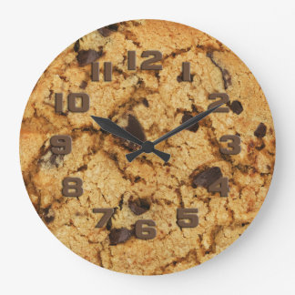 Chocolate Chip Cookie Wall Clocks