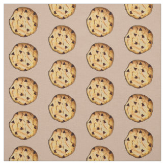 Chocolate Chip Cookie Fabric