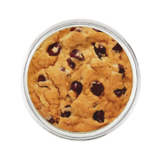 Chocolate Chip Cookie Lapel Pin