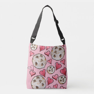 Chocolate Chip Cookie Lover Crossbody Bag