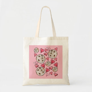 Chocolate Chip Cookie Lover Tote Bag