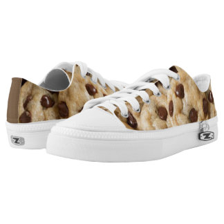 CHOCOLATE CHIP COOKIE LOW TOP ZIPZ SHOES