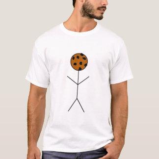 Chocolate Chip Cookie-Noggin T-Shirt