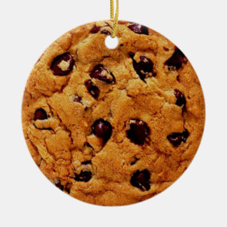 chocolate chip cookie ornament