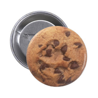 Chocolate Chip Cookie Pinback Buttons