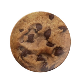 Chocolate Chip Cookie Plate Porcelain Plates