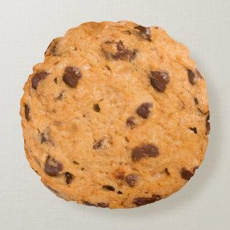 Chocolate Chip Cookie Round Cushion